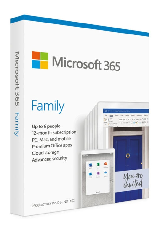 Microsoft 365 Family (1 user)